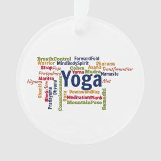 Nube de la palabra de la yoga
