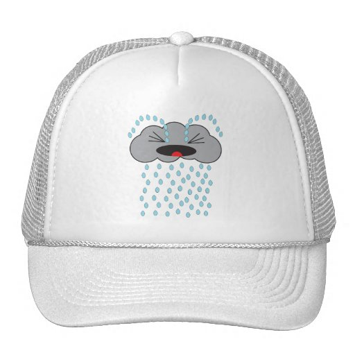 Nube de lluvia gritadora gorra