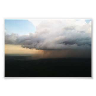 Nube de lluvia arte fotográfico