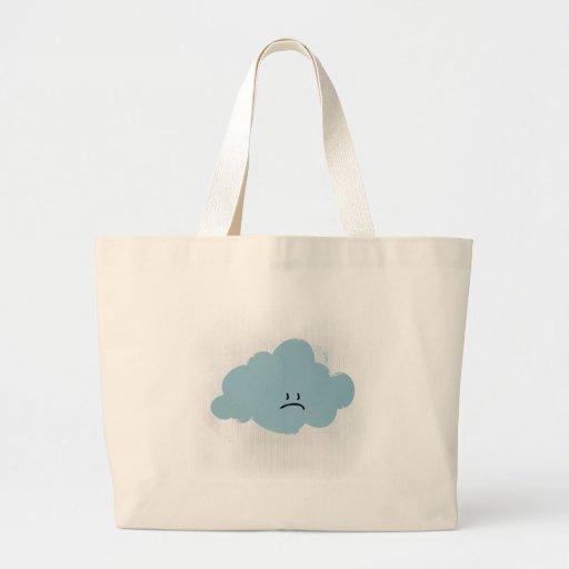 Nube de lluvia triste bolsas