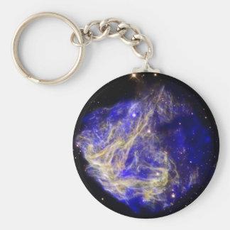 Nube de Magellanic grande azul Llavero Personalizado