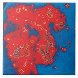 Nube de Magellanic grande Azulejo Cuadrado Grande