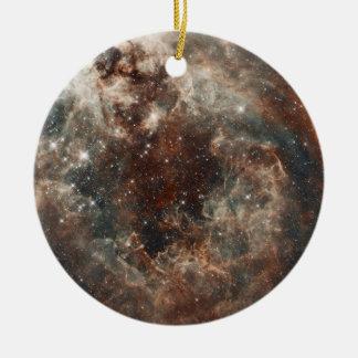 Nube de Magellanic grande de la nebulosa del Adorno Navideño Redondo De Cerámica