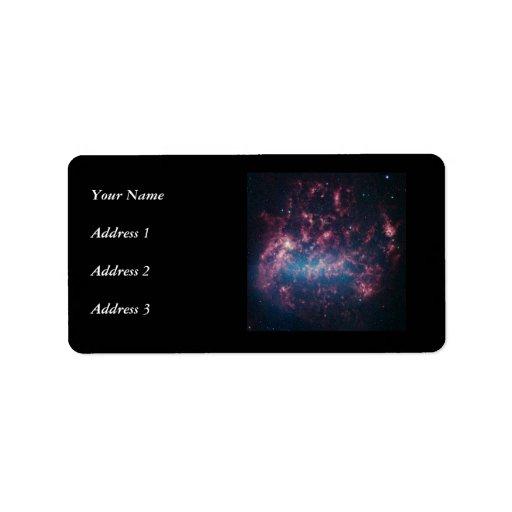 Nube de Magellanic grande Etiquetas De Dirección