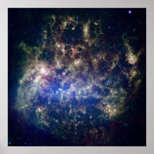 Nube de Magellanic grande Poster