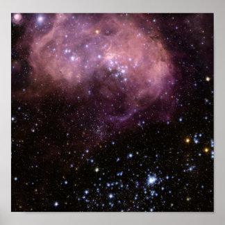 Nube de Magellanic Póster