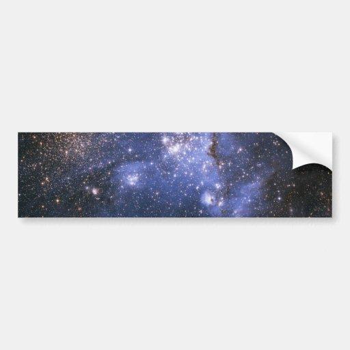 Nube de NASAs Magellanic Pegatina Para Auto