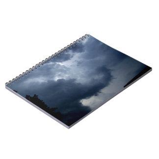 Nube de tormenta del tronco del elefante cuaderno