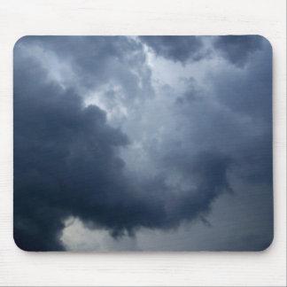 Nube de tormenta del tronco del elefante tapete de raton