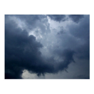 Nube de tormenta del tronco del elefante postal