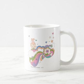 Nube del arco iris de PEBBLES™ Taza De Café