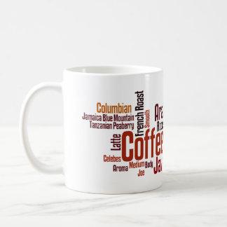 Nube del café taza