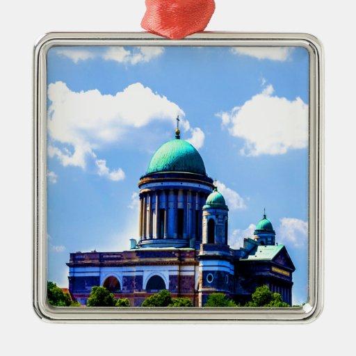 nube del cielo de la basílica de la paz y de la ornamento para arbol de navidad