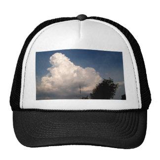 nube del cielo gorros
