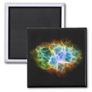 Nube del espacio de la estrella de la nebulosa de imán cuadrado