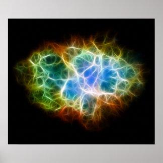 Nube del espacio de la estrella de la nebulosa de  impresiones
