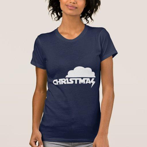 Nube del navidad camiseta