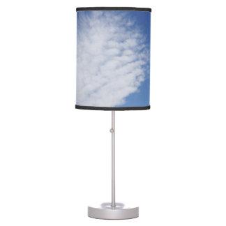 Nube hermosa de la lámpara
