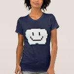 Nube linda del pixel camisetas