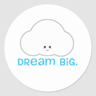Nube linda grande ideal del pegatina de Kawaii