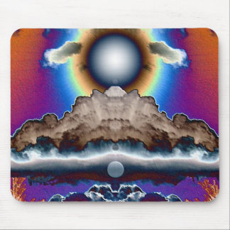 Nube nuclear alfombrilla de ratones
