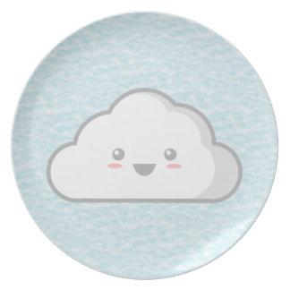 Nube Plato De Comida