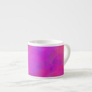 Nube rosada azul clara taza espresso