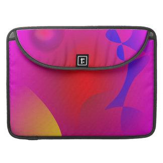 Nube rosada fundas para macbook pro