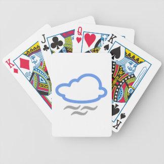Nube ventosa cartas de juego