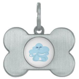 Nube ventosa placas de mascota