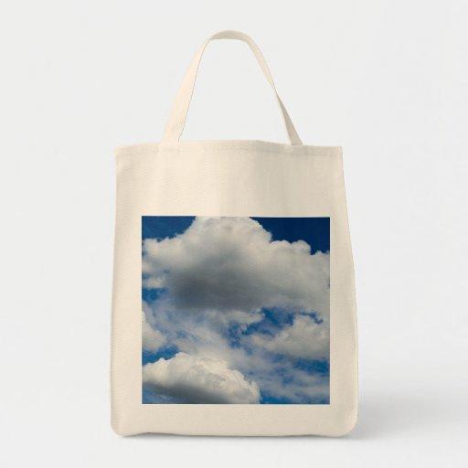 Nube Vista Bolsa Tela Para La Compra