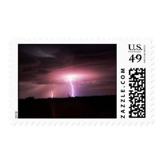 Nubes acodadas sellos postales