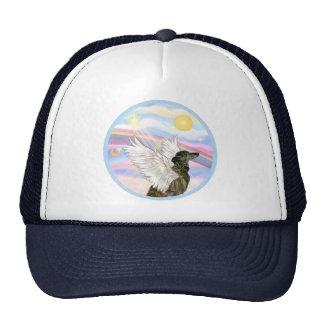 Nubes - ángel Brindle del galgo Gorra