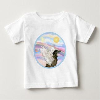 Nubes - ángel Brindle del galgo Playera Para Bebé
