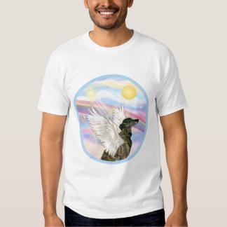 Nubes - ángel Brindle del galgo Polera