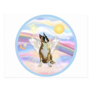 Nubes - ángel del boxeador (oídos cosechados #1) postal