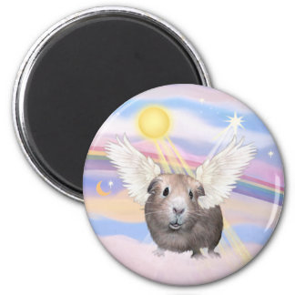 Nubes - ángel del conejillo de Indias (#2) Imán De Frigorífico