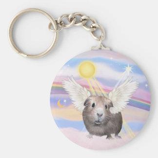 Nubes - ángel del conejillo de Indias (#2) Llavero Personalizado