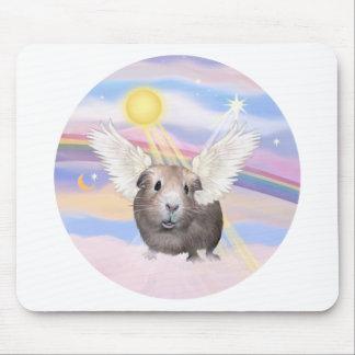 Nubes - ángel del conejillo de Indias (#2) Alfombrilla De Ratones
