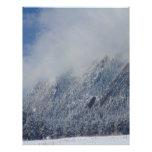 Nubes bajas sacadas el polvo Boulder Colorado de F Membrete Personalizado