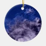 Nubes brillantes ornamento para reyes magos