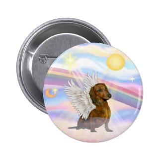 Nubes - Brown/ángel rojo del Dachshund Pin