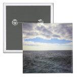 Nubes circulares sobre el Océano Atlántico Pin Cuadrado