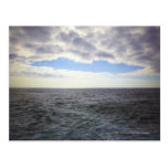 Nubes circulares sobre el Océano Atlántico Postal