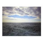 Nubes circulares sobre el Océano Atlántico Postales