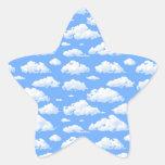 Nubes Colcomanias Forma De Estrellas