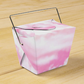Nubes color de rosa rosadas festivas cajas para regalos