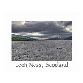 Nubes de acero de Loch Ness Postal
