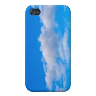 nubes de cúmulo sobre el antártico occidental iPhone 4 carcasa