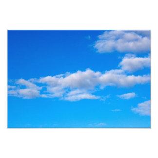 nubes de cúmulo sobre el antártico occidental impresiones fotograficas